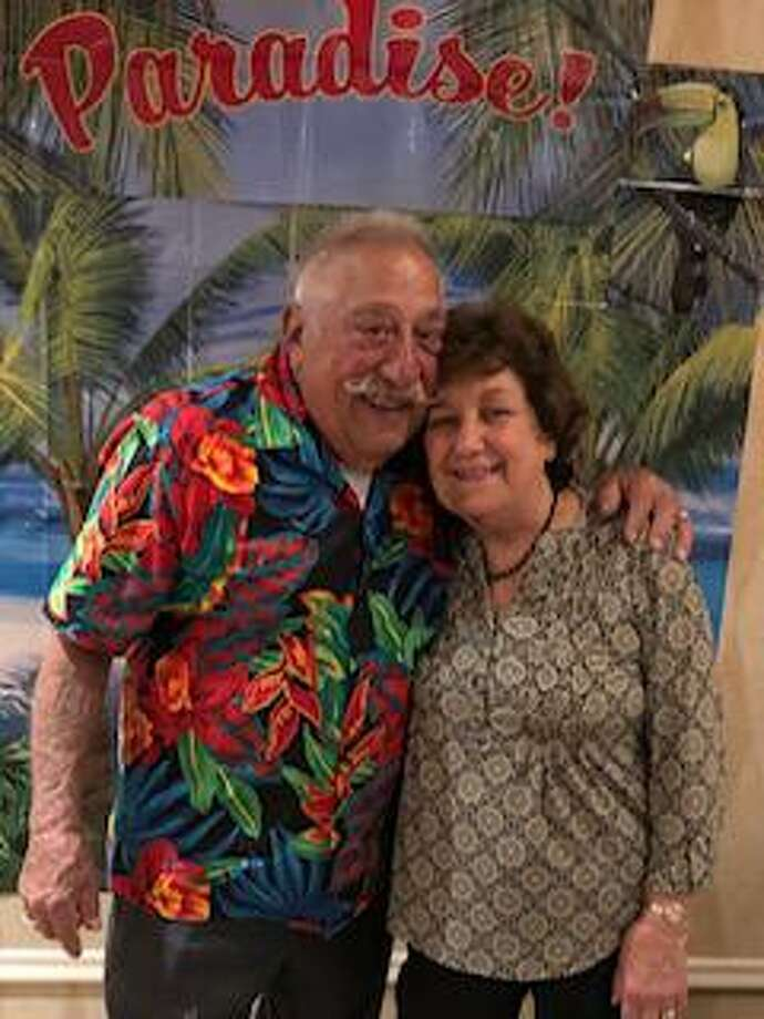 Pat and Gloria Battinelli celebrated their 65th wedding anniversary on Sept. 18. They hosted a dinner at The Water's Edge at Giovanni's in Darien. Photo: Contributed Photo