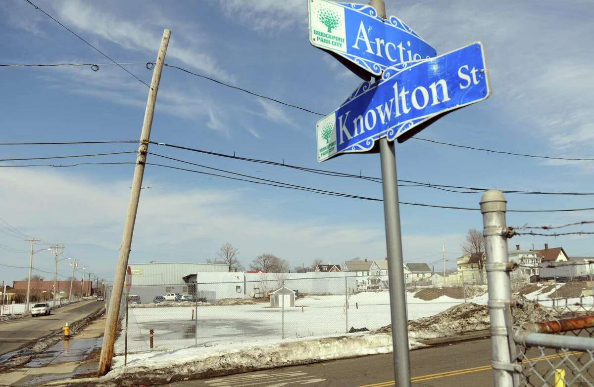 Knowlton Street in Bridgeport is one of many unlikely homes for the arts in Bridgeport.