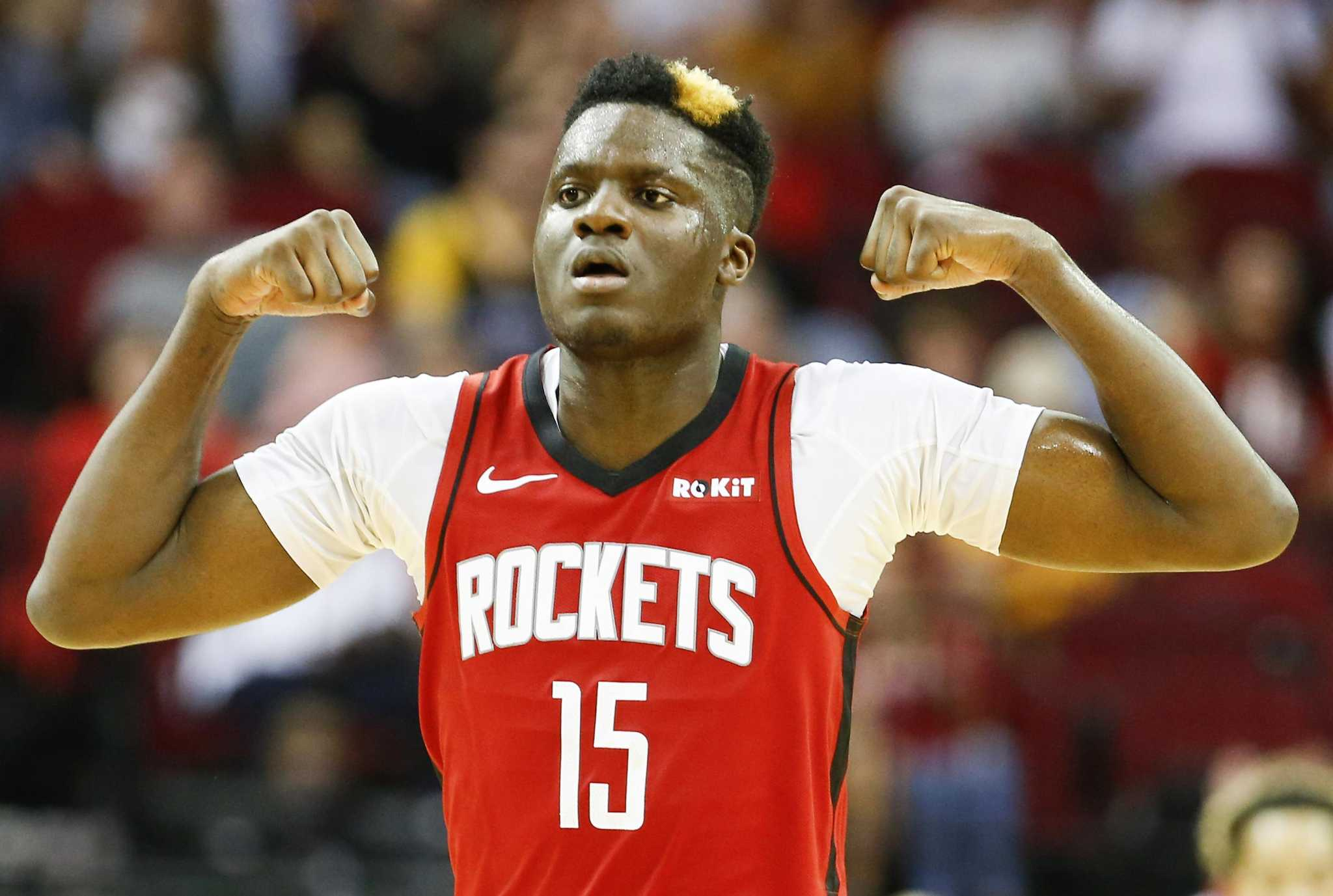 Clint Capela eager to get back on court for Rockets - HoustonChronicle.com