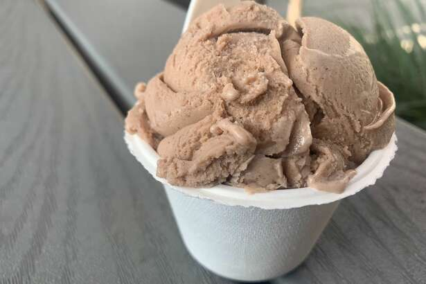 "Eclipse Foods launched its ""Mexican Hot Chocolate"" plant-based ice cream flavor at Humphry Slocombe on Friday, Nov. 8. I tried it."