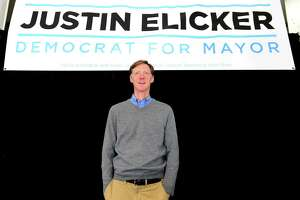 New Haven, Connecticut - Wednesday, November 6, 2019: New Haven Mayor-Elect Justin Elicker Wednesday afternoon in his campaign headquarters the day after defeating incumbent Mayor Toni Harp.