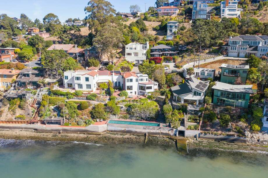 This home in the Point Richmond hills is for sale for $1.6 million. Photo: Open Homes Photography