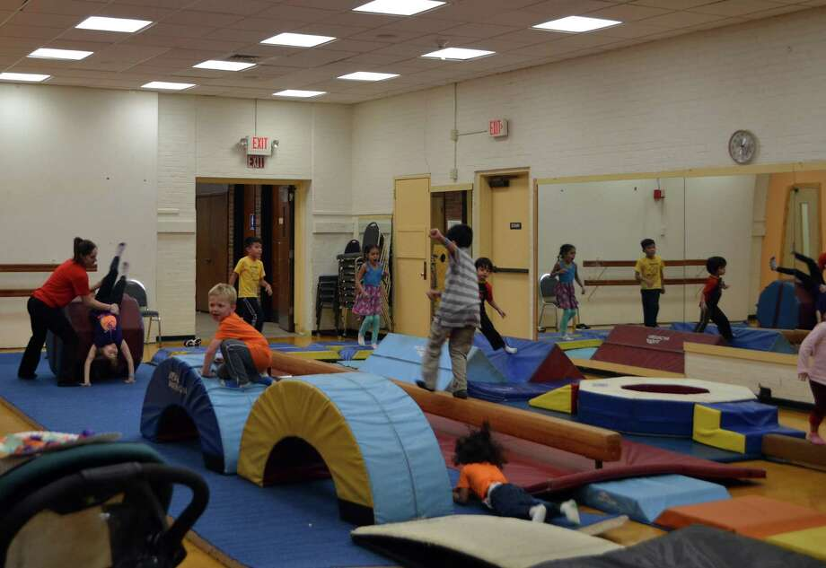 The Northwest CT YMCA held a Free Family Fun Day at its Torrington, Winsted and Canaan facilities in 2018. The Y's American Ninja Warrior competition is set for Nov. 30. Photo: Northwest CT YMCA / Contributed Photo