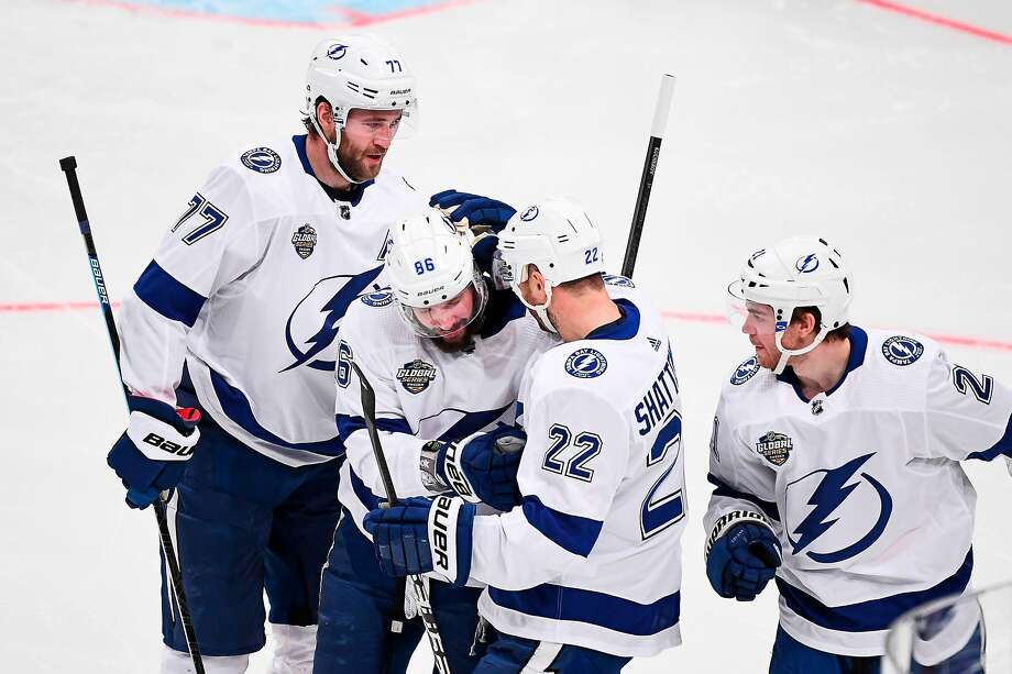 Nikita Kucherov's goal helps Lightning beat Sabres in Sweden