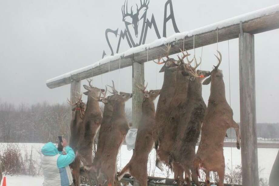 It will be the 11th year for the Southern Mecosta Whitetail Management Associaton's buck pole in November. (Pioneer file photo)