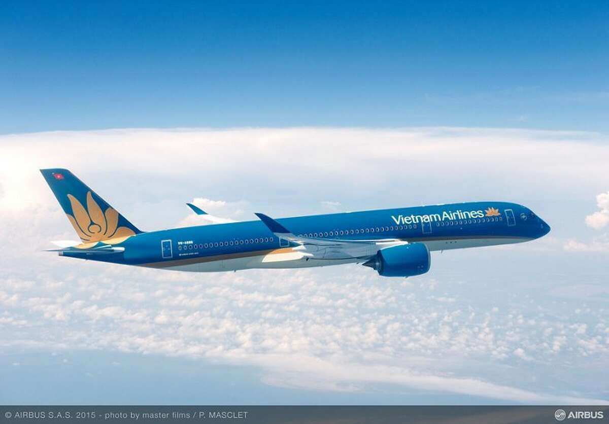 Vietnam Airlines's Airbus A350 could fly the 13 hours between SFO and Saigon
