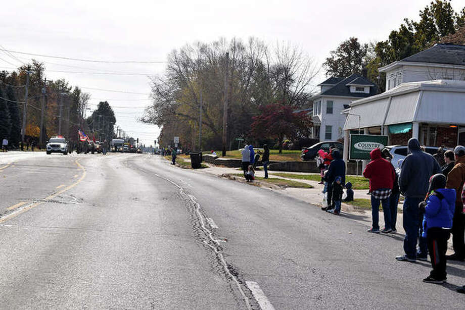 Sights from Saturday's Veterans Day parade and ceremony. Photo: Samantha McDaniel-Ogletree | Journal-Courier