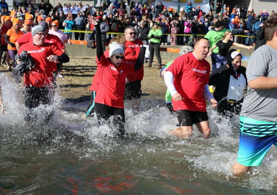 Were you Seen at the 13th Annual Lake George Polar Plunge, a benefit for Special Olympics NY held at Shepard's Park Beach, Lake George on Saturday, November 9, 2019? Photo: Gary McPherson - McPherson Photography