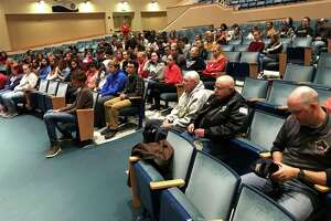 Portland High School students learned about military service from veterans.