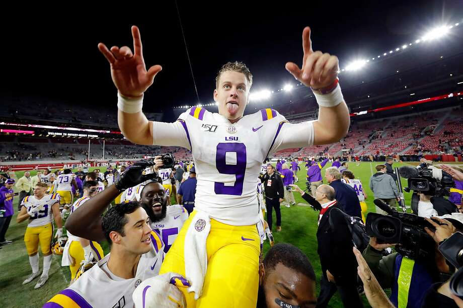 Joe Burrow, No. 1 LSU hold on for 46-41 win over No. 2 Alabama