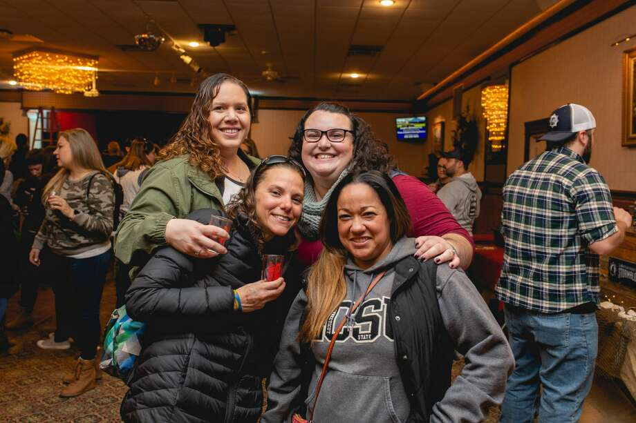 The Connecticut Cider Association held the very first Hard Cider Festival in Wallingford on November 9, 2019. Festival goers enjoyed samples from over a dozen regional cideries, food trucks, live music, games and an apple cider doughnut eating contest. Were you SEEN? Photo: Lisa Nichols/Hearst CT Media