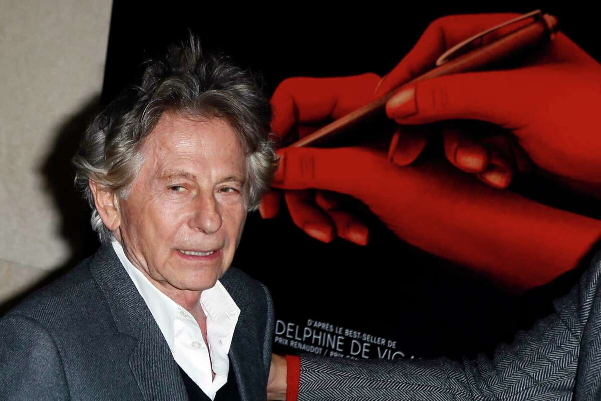 FILE - In this Oct. 30, 3017 file photo director Roman Polanski poses a photo prior to the screening of