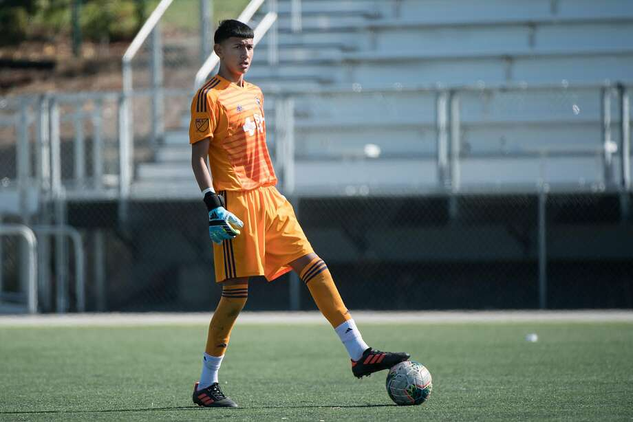 The San Jose Earthquakes announced the signing of 14-year-old goalkeeper Emmanuel Ochoa on Monday, Nov. 11, 2019. Photo: Courtesy Of ISI Photos
