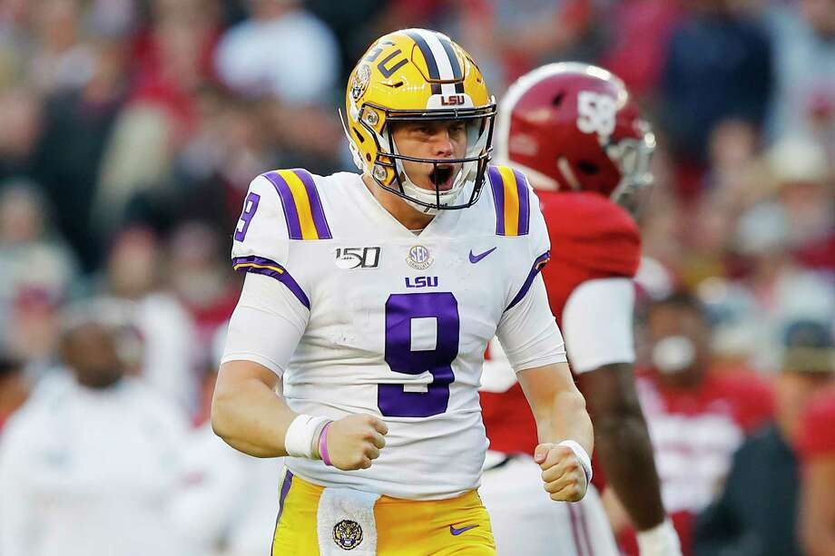 Burrow, LSU hold off Alabama - Times Union