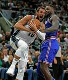 Marco Belinelli entered Saturday's game averaging just 4.3 points on 24 percent shooting overall and 18.5 percent from 3-point range after a 1-for-10 night against Oklahoma City.