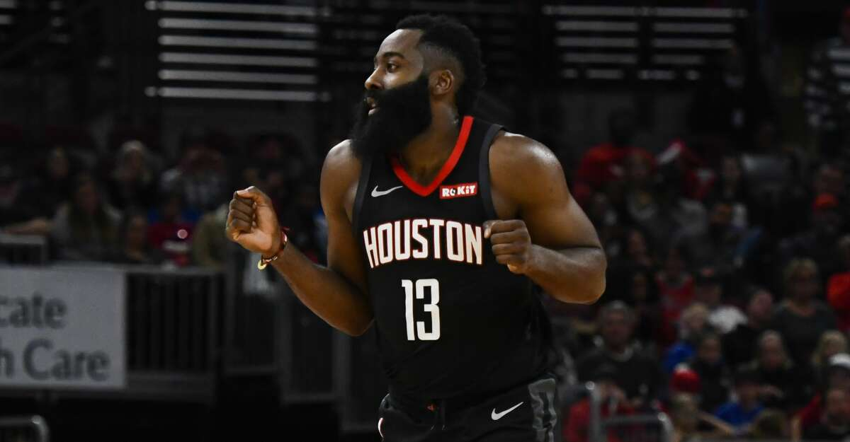 James Harden averaged 40.7 points, 9.3 assists and eight rebounds as the Rockets went 3-0 last week.