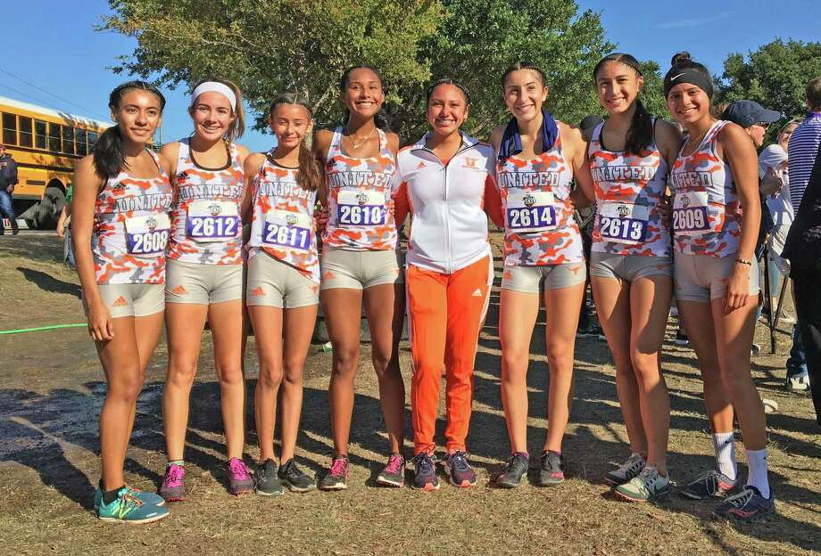 United had a girls' cross country team compete at the state meet Saturday for the first time under the current format. Photo: Clara Sandoval /Laredo Morning Times