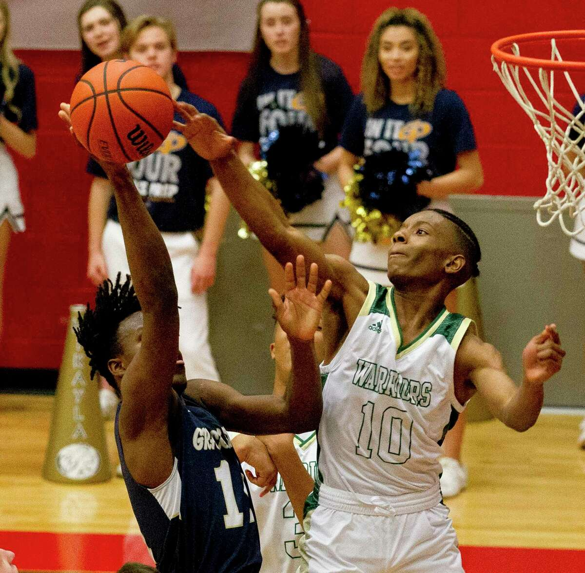 The Woodlands Christian Academy guard Bakari LaStrap is a candidate for the Guy V. Lewis Award, giving anually to the best player in the Greater Houston area.