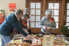 Many people stopped in on Saturday to see what theTrinity Lutheran Harvest Bazaar Luncheon had to offer.