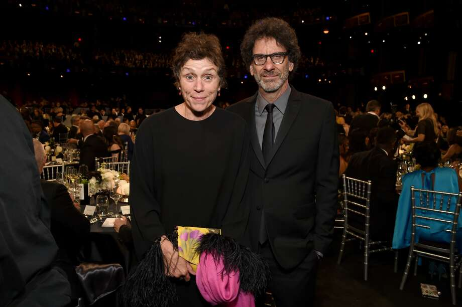 Frances McDormand and Joel Coen attend the 47th AFI Life Achievement Award honoring Denzel Washington at Dolby Theatre on June 6, 2019 in Hollywood. The couple has become embroiled in a legal dispute with their Marin neighbors. Photo: Michael Kovac/Getty Images For AFI