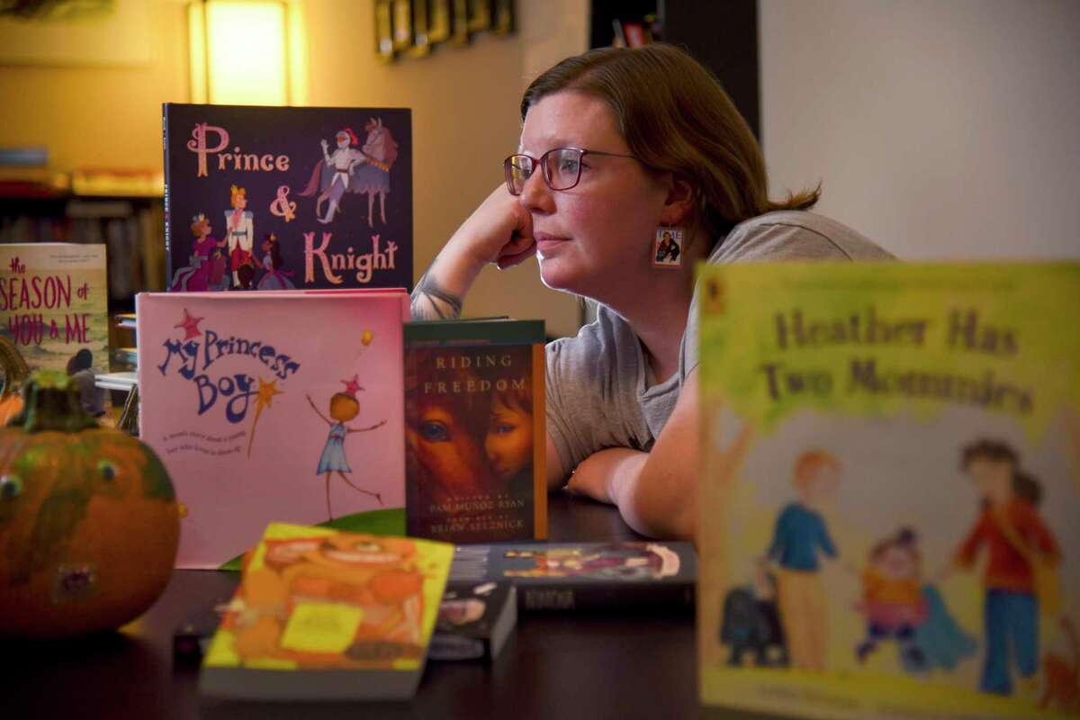 Charlotte McConnell, a member of the group Equality Loudoun and a vocal LGBTQ advocate in the district, reached out to the Virginia chapter of the ACLU when she heard about backlash to the diverse classroom libraries initiative.
