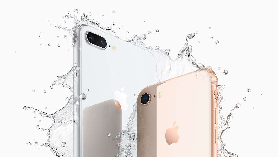 A new, less expensive iPhone apparently coming from Apple will have a design similar to the iPhone 8, according to Bloomberg News. Photo: Apple Inc.