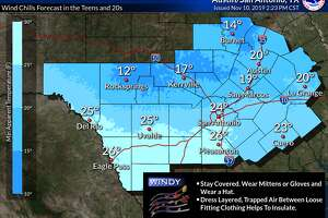 A very strong cold front will move across the region on Monday afternoon bringing a blast of colder air to the region Monday night through Wednesday morning, according to the National Weather Service.