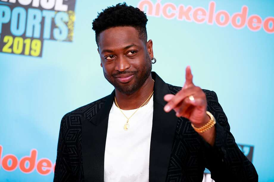 SANTA MONICA, CALIFORNIA - JULY 11: Dwyane Wade attends the Nickelodeon Kids' Choice Sports at Barker Hangar on July 11, 2019 in Santa Monica, California. (Photo by Rich Fury/FilmMagic) Photo: Rich Fury / FilmMagic