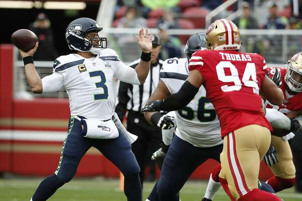 Russell Wilson vs. 49ers' No. 1 defense: Monday night's prime-time matchup  - SFChronicle.com