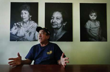 Hector Caldera, shown at the Good Samaritan Center near where he grew up, counsels military veterans grappling with addictions, trauma and military-related injuries.