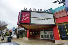 A view of the Madison Theater on Monday, Nov. 11, 2019, in Albany, N.Y. The theater is still closed. (Paul Buckowski/Times Union)
