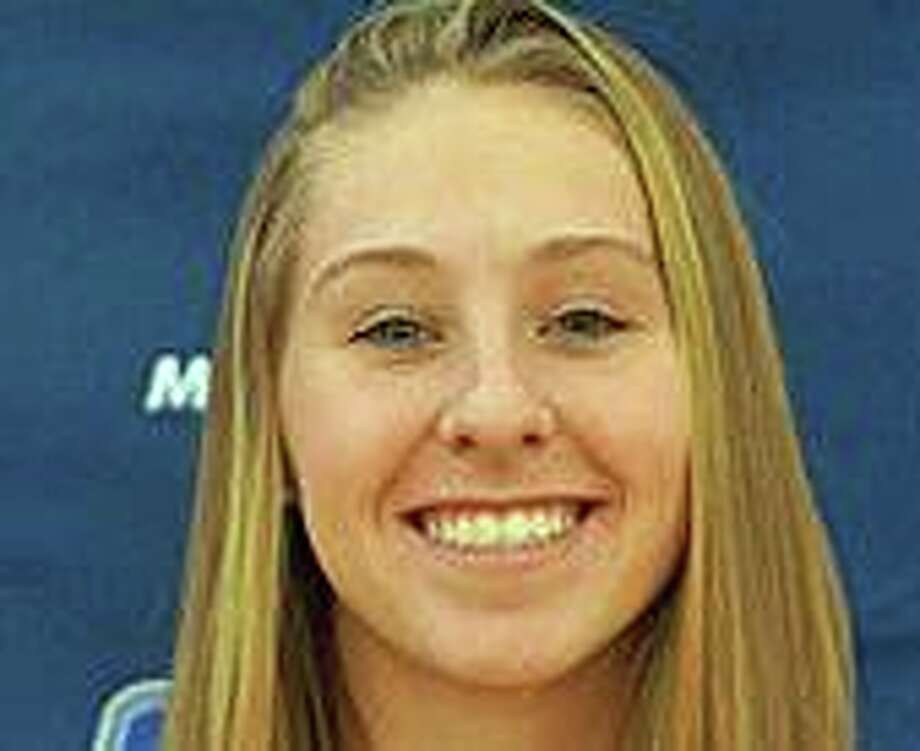 Melanie Coleman, a former Jonathan Law High school all-state gymnast died Sunday following an accident two days earlier while practicing at Southern Connecticut State University.