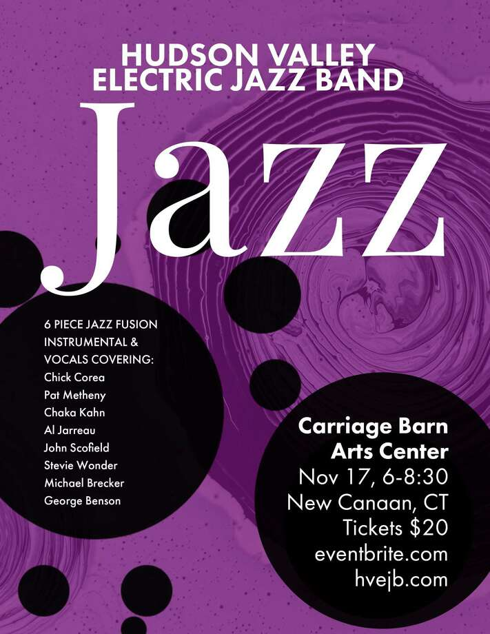 The Hudson Valley Electric Jazz Band will perform at the Carriage Barn Arts Center on Sunday, Nov. 17, from 6 to 8:30 p.m. Photo: Contributed Photo