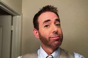 KENS-5 meteorologist Jeremy Baker participates in 'No Shave November.'