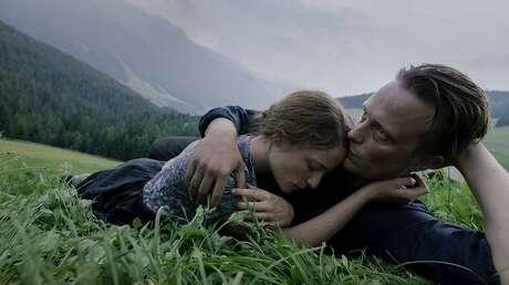 August Diehl and Valerie Pechner in 'A Hidden Life'