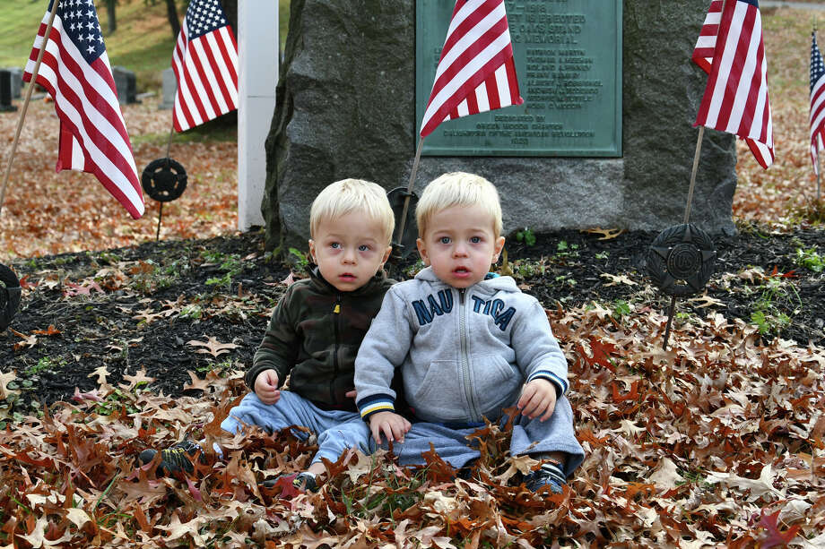 In Pictures: The 2019 Winsted Veterans Day Ceremony at Forest View Cemetery, November 11, 2019. Photo: Lara Green- Kazlauskas/ Hearst Media