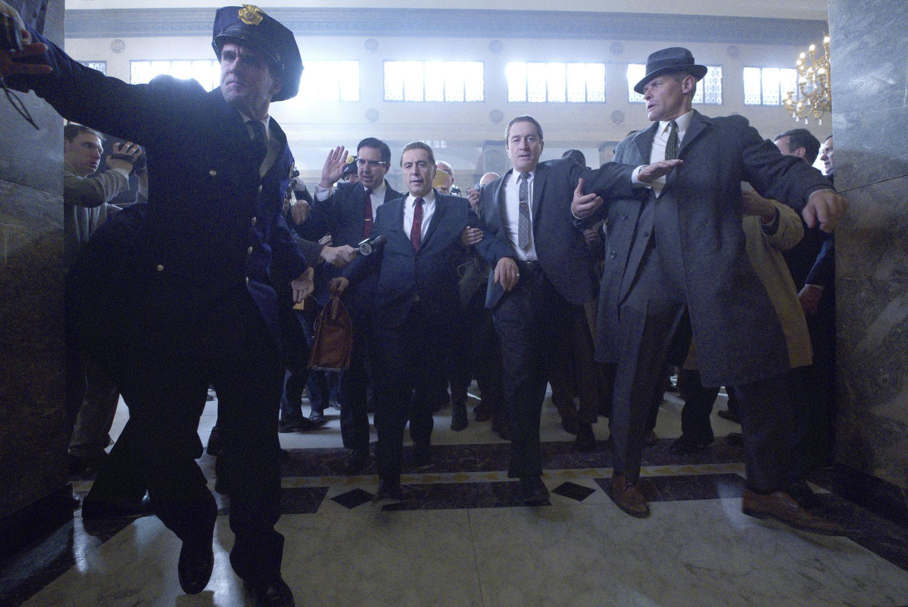 'The Irishman,' finally in Houston, should be seen on the big screen