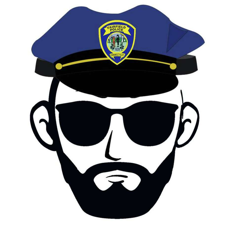 The Fairfield Police Department's No Shave November logo. Photo: Fairfield Police Department