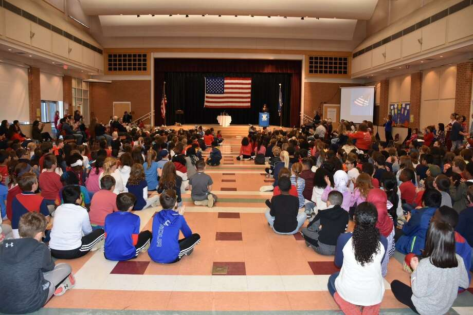 Frenchtown Elementary School students honored veterans on Veterans Day, Monday, Nov. 11 Photo: Contributed Photo