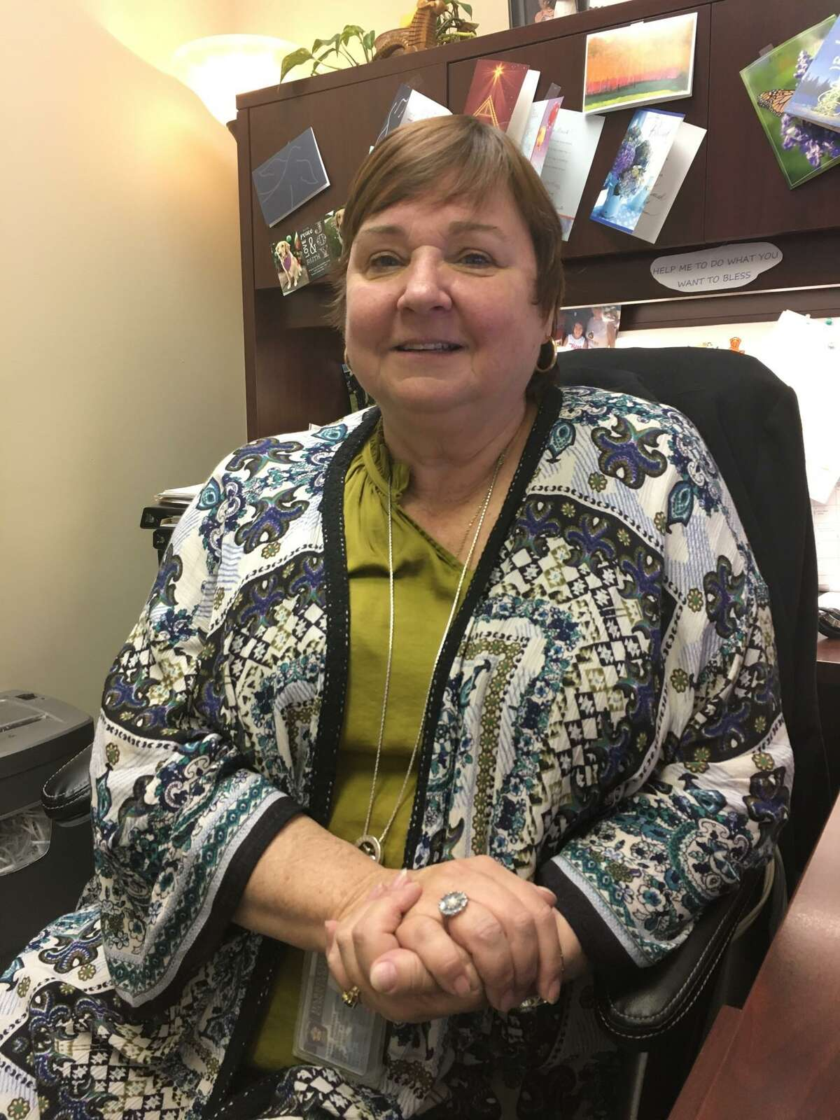 Barbara McInnis has served as the Victim Assistance Liaison coordinator for Harris County Precinct 5 Constable Ted Heap for two years.