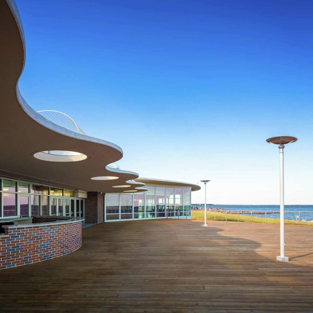 Sylvan Beach Pavilion.
