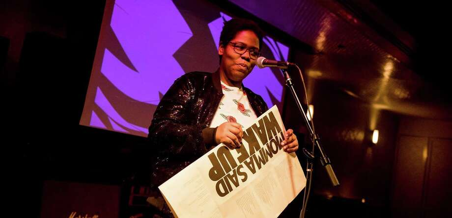 New York City-based, award-winning poet Candace Williams will perform along with students from the University of Connecticut Stamford campus at a poetry reading at Franklin Street Works Thursday night. Photo: Contributed