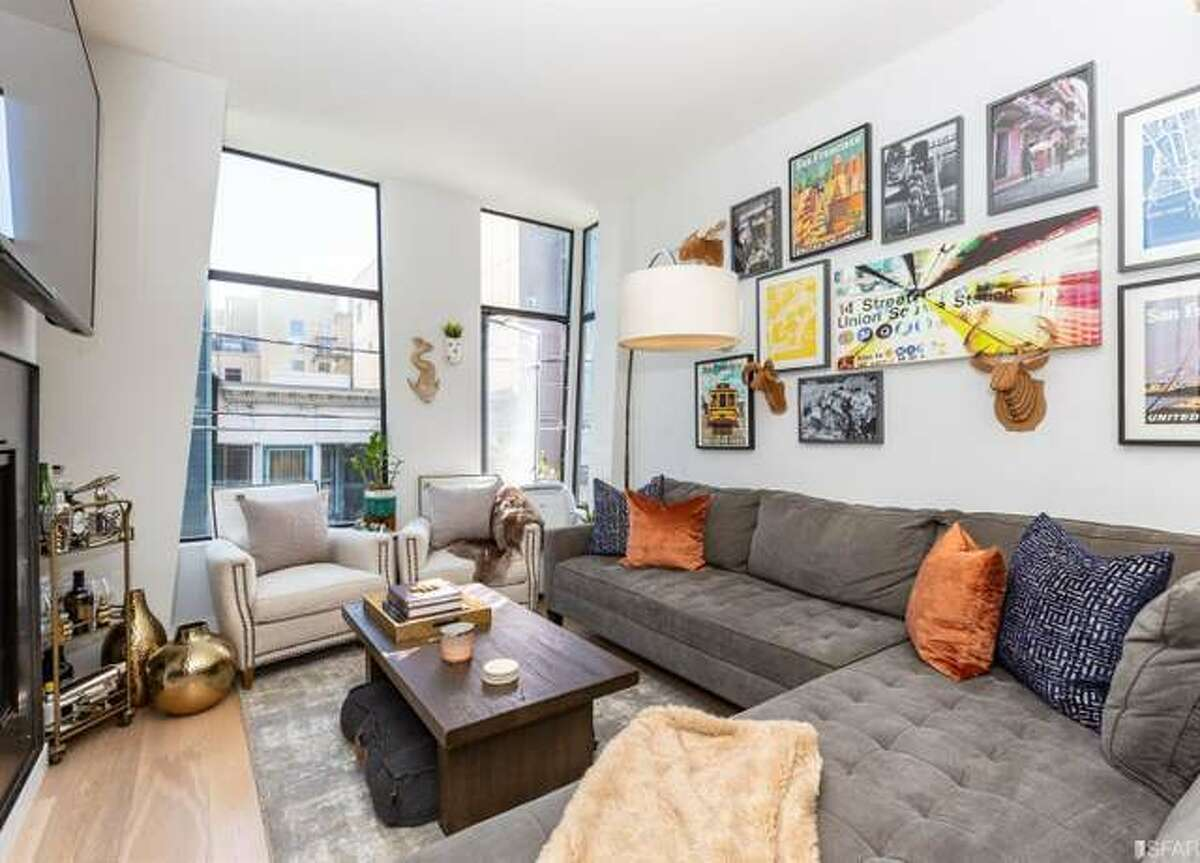 $699k buys a 544 square foot, 1 bed, 1 bath condo on Shipley in SF's SoMa District