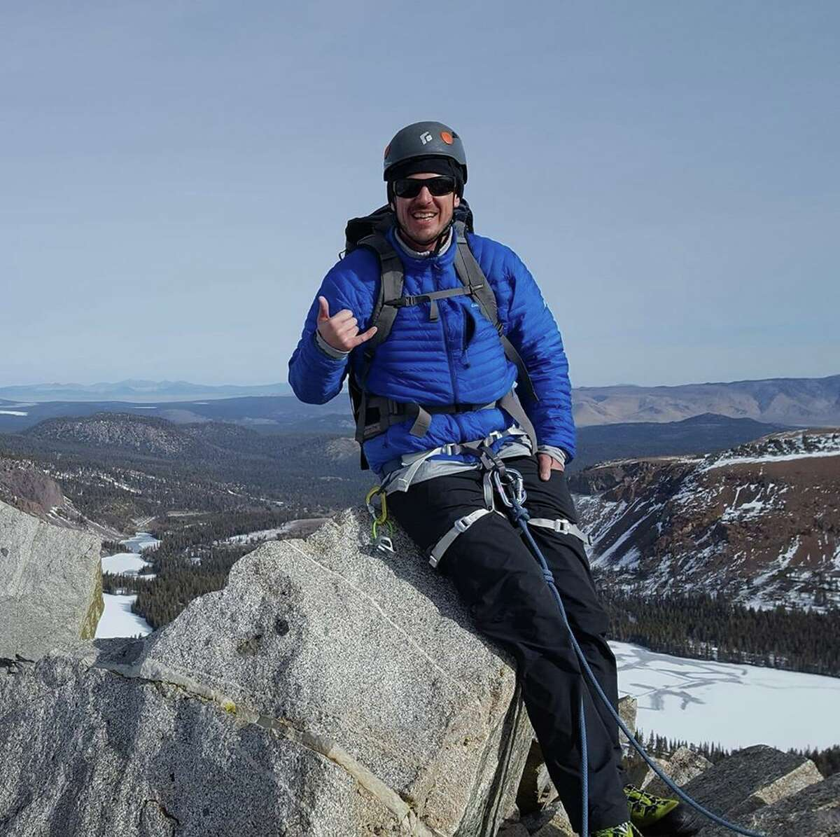 The body of missing Sequoia Kings Canyon National Park hiker Alan Stringer, 40, was found on the Darwin glacier Thursday at the base of Mount Darwin.