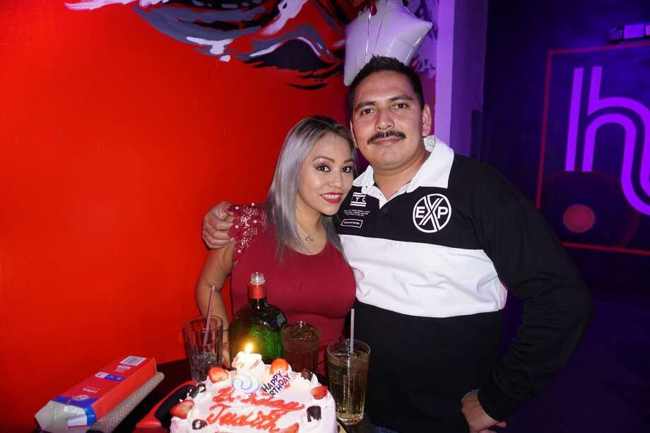Judy and Rey Reyes at Hype Bar Photo: Jose Gustavo Morales/Laredo Morning Times
