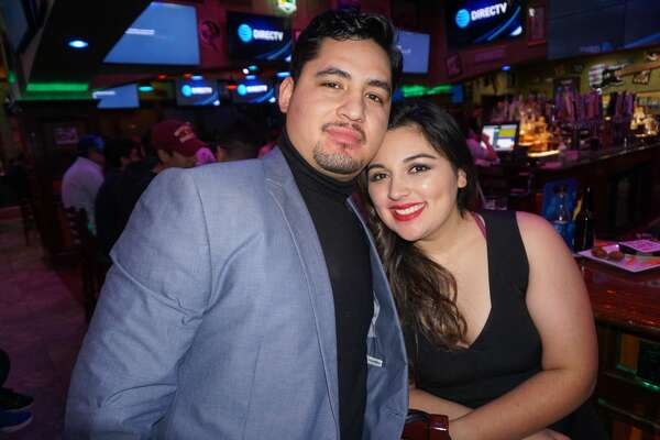 Jose Castillo and Lucy Pena at Tilted Kilt Pub & Eatery