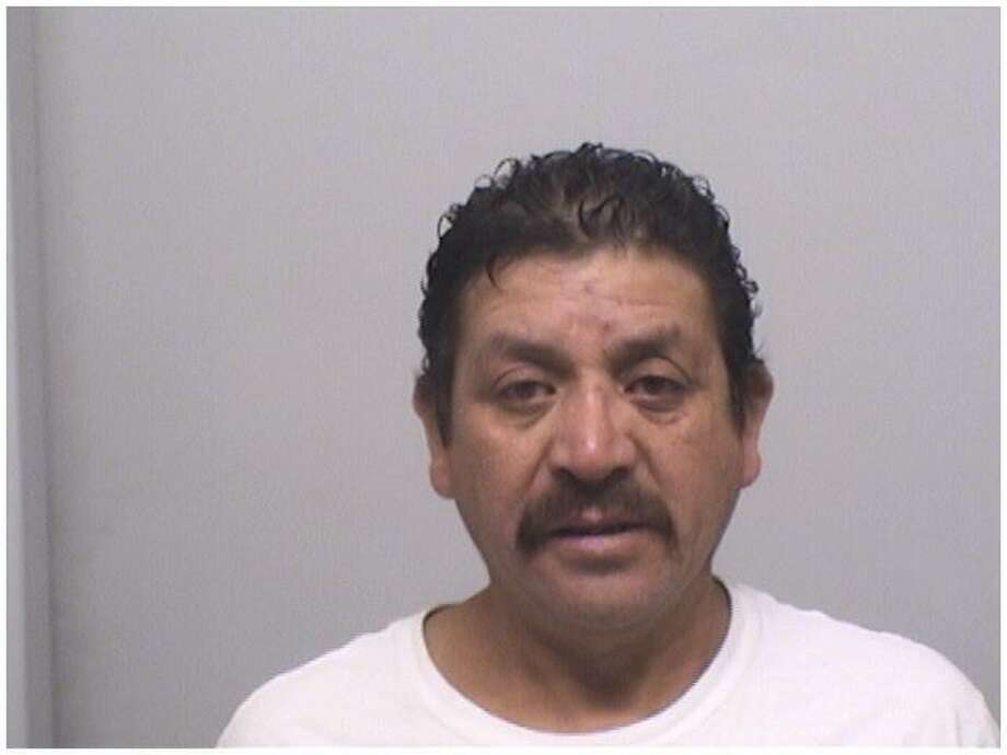 Adrian Marroquin-Gomez, 47, of Nobile Street, Stamford, was charged with second-degree assault and disorderly conduct. Photo: Stamford Police Department / Contributed