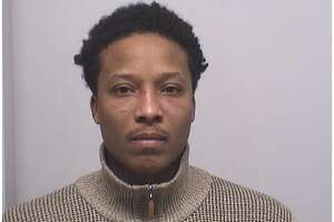 David Pouncy, 32, of New Haven, was charged with stealing a car getting gas at the BP gas station on West Broad Street in Stamford.