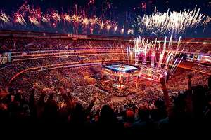 WWE's WrestleMania 35, held April 7, 2019, at MetLife Stadium in East Rutherford, N.J., produced an approximately $165 million economic impact for the New Jersey-New York region, according to new survey results.