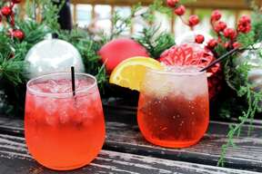 Holiday spritzes will be part of chef Jason Dady's Santa Shack pop-up starting Nov. 14 at the former Shuck Shack location near the Pearl.